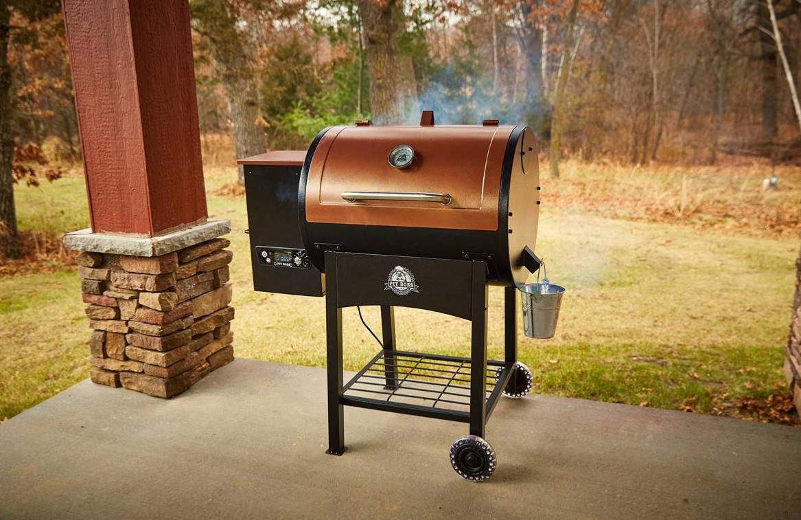 Gourmet-Barbecue   Pit Boss Classic Wood Pellet Grill