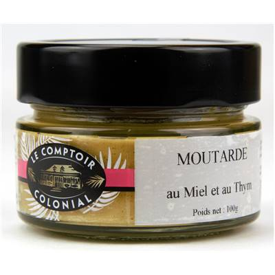 Mustard with Honey and Thyme - 100g