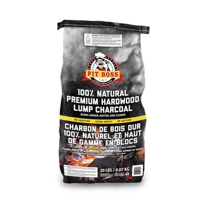 9KG Pit Boss Natural Lump Charcoal