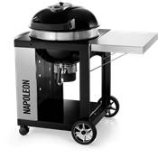 "22"" PRO Cart Charcoal Napoleon Kettle Grill"