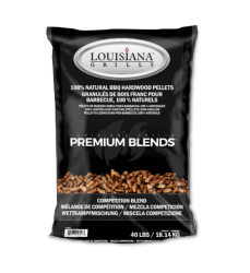 Louisiana Grills 18 kgs Competition Blend Hardwood Pellets